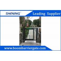 DC Motor Vehicle Entrance Security Barrier Gate With Anti-Crash Function