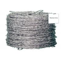Galvanized High Tensile Barbed Wire Sharp Q195 4 Strand Barbed Wire Fence