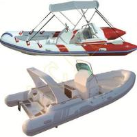 Buy cheap PVC Hypalon Inflatable Rib Rubber Boat from Wholesalers