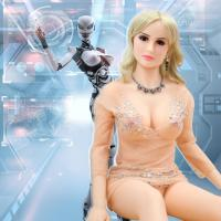 China Food Grade TPE Smart AI Robot 158 cm Curvy Real Life Adult Dolls on sale