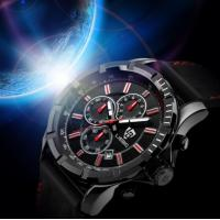 Buy cheap Fashion Leather Stainless Steel Analog Quartz Watch from Wholesalers