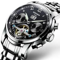 Buy cheap Wholesale Stainless Steel Tourbillon Automatic Mechanical Men Watches from Wholesalers