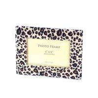 Buy cheap Leopard Picture Frame. Awesome Amimal Print for 4 By 6 Photo.-Wall & Table Top Frames from Wholesalers