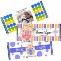 Buy cheap Christening / Baptism Candy Bar Favors and Wrappers Christening-Baptism-Candy-Bars from Wholesalers