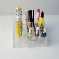 Buy cheap Clear Make Up Display Acrylic Box from wholesalers