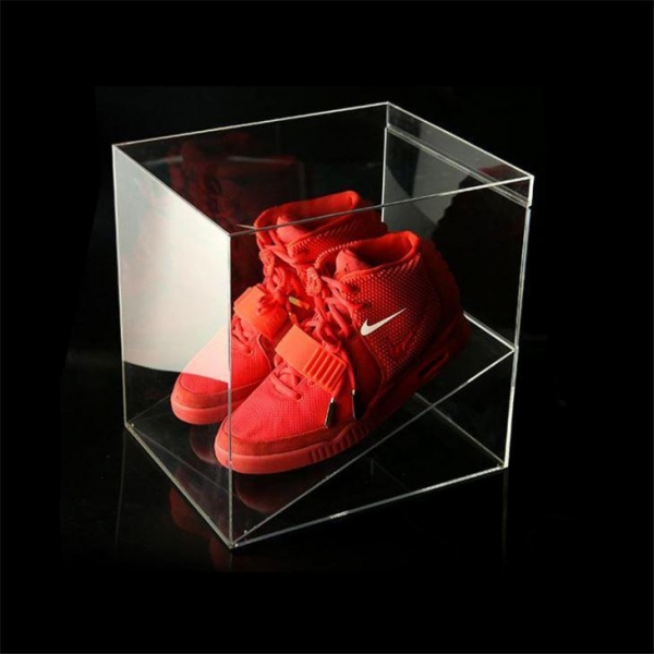 Quality New Arrival Handmade Luxury Clear Acrylic Shoe Box Shoe Drawer for sale