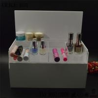 Buy cheap White Acrylic Cosmetic Organizer-Makeup Storage Ideas-Makeup Organization from Wholesalers