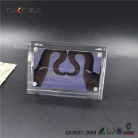 Buy cheap Desktop Double Side Clear Acrylic Magnetic Photo Frames from Wholesalers