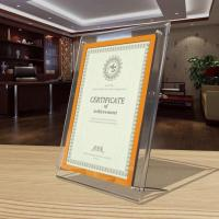 Buy cheap Large Wall Mounted Acrylic Photo Frames Perspex Photo Frames from Wholesalers