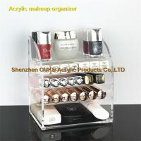 Buy cheap Shenzhen Export Acrylic Makeup Organizer Cosmetic Holder Vanity from Wholesalers