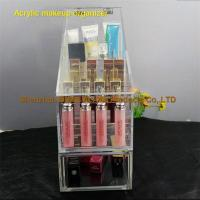 Buy cheap Extra Large Makeup Organiser Clear Acrylic Cosmetic Organizer from wholesalers