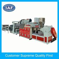 Buy cheap Good sale witdth 1350mm pvc sheet mat plastic extrusion machine from Wholesalers