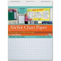 """Classroom Essentials Heavy Duty Anchor Chart Paper, 1"""" Grid Ruled"""