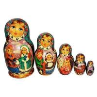 Buy cheap Winter, Children, Christmas Babushka Nesting Dolls from Wholesalers