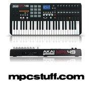 Buy cheap Akai MPK 49 MIDI Keyboard and MPC Pad Controller from wholesalers