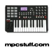 Buy cheap Akai MPK 25 MIDI Keyboard and MPC Pad Controller from wholesalers