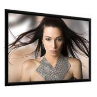 Buy cheap ADEO 177 PLANO 16:9 (177x107) VisionWhite framed matt black velvet screen from Wholesalers