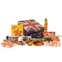 Buy cheap Gifts and Gift Trays Best of British Sweets Tin from Wholesalers