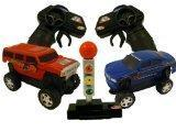 Buy cheap Licensed Hummer & Chevy SSR Concept Drag Race RC Car Truck Toy Set from Wholesalers