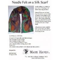 Buy cheap Needle Felt Instructions for Silk Scarf, Hat or Purse from Wholesalers