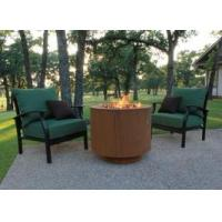 "Buy cheap 30"" Round Cor-Ten Steel Hidden Tank Fire Pit from Wholesalers"