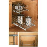 Buy cheap Double pull out wire basket from Wholesalers
