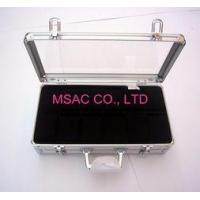 Buy cheap Personalized Silver Aluminum Watch Case / Watch Boxes , Acrylic Watch Cases from Wholesalers