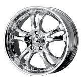 Buy cheap American Racing Casino (Series AR683) Chrome - 17 X 7.5 Inch Wheel from Wholesalers