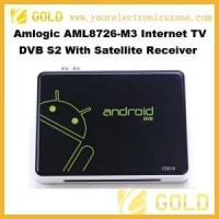 Buy cheap Google TV Amlogic AML8726-M3 Smart Google TV BOX DVB S2 from wholesalers