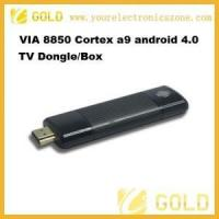 Buy cheap Google TV Mini pc via8850 cortex a9 google android 4.0 tv box from wholesalers