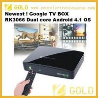 Buy cheap Google TV Smart Google TV BOX RK3066 Dual core from wholesalers