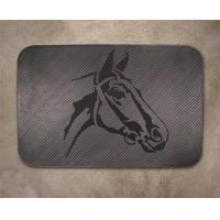Buy cheap Black(Colored) Horse Head Mat from wholesalers