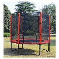 Buy cheap 8' trampoline with safety net from Wholesalers