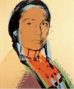 China Repro. Painting Top Repro. Andy Warhol - American Indian oil painting on sale