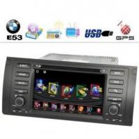 Buy cheap 7 Inch LCD 800 x 480 Resolution BMW E53 Car DVD Player with GPS and TV from Wholesalers