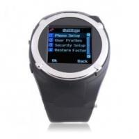Buy cheap MQ988 Quad Band Spy Camera 1.5 Inch Touch Screen Sports Wrist Watch Cell Phone from Wholesalers