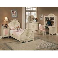 Buy cheap ACME Doll House Youth White Full Size Bed With Stenciled Art from Wholesalers