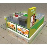 Customized indoor boba tea store design-SY074