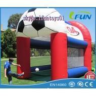 Buy cheap soccer field commercial inflatable football pitch kick Product ID:FB-034 from Wholesalers