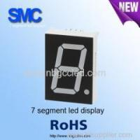 """Buy cheap 0.39"""" single digit green color7 segment LED display manufacturer from Wholesalers"""
