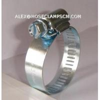 Quality AT-02 Galvanized steel American type hose clamp wholesale