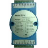 Buy cheap Analog I/O Modules 16-CH Analog Signal to RS485/232 Modbus Converters from Wholesalers