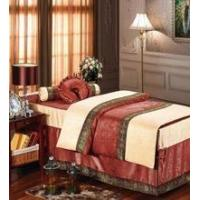 Beauty salons and massage parlors upscale bed linens, lace bed linens