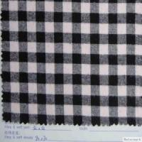 Buy cheap 100% cotton yarn dyed flannel from Wholesalers