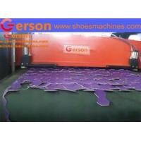 Buy cheap Automatic machine cutting material on conveyor belt from wholesalers