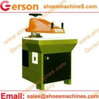 Buy cheap leather boot cutting machine from wholesalers
