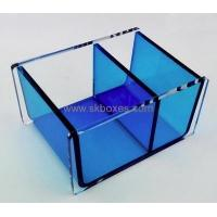 Buy cheap Customized acrylic fancy tissue box transparent plastic box acrylic storage box BTB-090 from wholesalers