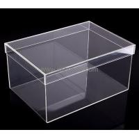 Buy cheap Customized acrylic shoe storage box BSB-006 from Wholesalers