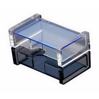 Buy cheap Factory direct sale acrylic storage box with lid BSC-006 from Wholesalers