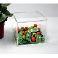 Buy cheap Factor custom design acrylic plastic storage box BSC-004 from Wholesalers